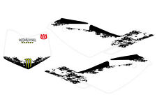 KIT GRAFICHE TABELLE HUSQVARNA TE TC MONSTER white
