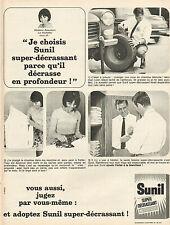 Publicité Advertising 1966  Sunil machine à laver Super décrassant Mme Beaumont