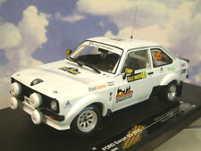 SUNSTAR 1/18 Ford Escort RS1800 #141 1ST 2013 #4494 Ganador Rally Suecia histórico