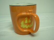 2003 STARBUCKS BARISTA ORANGE HALLOWEEN PUMPKIN COFFEE MUG