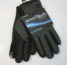 ISOTONER mens SMART TOUCH gloves  NEW NWT