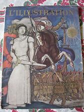 1940 magazine L'Illustration L'Empire Français dans la guerre colonies