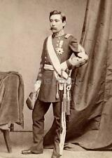 Japanese Army Officer Saigo Tsugumichi 1876 Gutekunst Photo Reprint 7x5 Inch