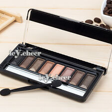 8 Colours Makeup Eye Shadow Palette Shimmer Neutral Smokey Nude Warm Eyeshadow