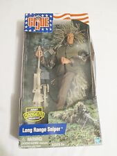 "GI JOE Army Rangers Collection 12"" Long Range Sniper Ghillie 2002 Hasbro NEW"