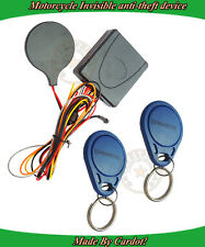 NEW RFID Immobilizer Motorcycle Alarm Security System Arming Or Disarm Engine
