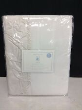 Pottery Barn Kids Lucy Velvet Ivory Lined Drapes Curtains Panels 50x84 blackout