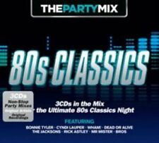 The Party Mix: 80s Classics by Various Artists (CD, Apr-2014, 3 Discs, Crimson)