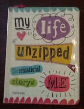 My Life Unzipped The Sensational Story Of Me By Sarah Vince FILL IN BOOK NEW