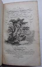 Moore's Fables for the Female Sex, 1799, Full Leather, Engravings