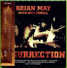 BRIAN MAY WITH COZY POWELL RESURRECTION CD MINI LP OBI