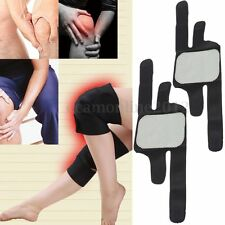 1 Pair Tourmaline Self Heating Knee Pads Infrared Magnetic Therapy Pain Relief