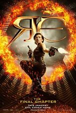 Resident Evil movie poster (b) : Final : 11 x 17 inches - Milla Jovovich poster