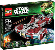 LEGO STAR WARS 75025:Jedi Defender Class Cruiser - Brand New