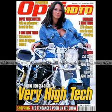 OPTION MOTO N°47-b APRILIA RSV 1000 ATOMO SUZUKI GSXR 1100 YAMAHA V-MAX TURBO