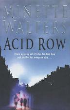 Acid Row by Minette Walters (Hardback, 2001)