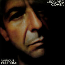 Leonard Cohen - Various Positions 180G LP REISSUE NEW 4 MEN w/ Jennifer Warnes