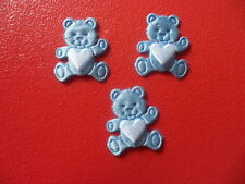Bear Heart Appliques Embellishments textilest -Crafts  Cardmaking  Scrapbooking