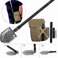 Military Tactical Multi Tool Folding Shovel Camping Outdoor Survival Spade