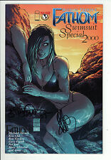 Fathom Swimsuit Special (1999) 2000 #1 Signed by Billy Tan & Joe Benitez Fine