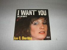 ANN C SHERIDAN 45 TOURS FRANCE BEATLES LAURENT VOULZY