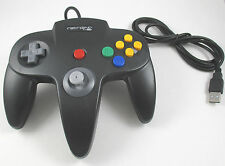 USA SELLER: New BLACK Retrolink Nintendo 64 N64 Controller for PC MAC USB