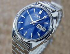 Seiko Actus Men's Made in Japan Day Date Stainless Steel Vintage 1970 Watch J766