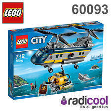 60093 LEGO Deep Sea Helicopter CITY DEEP SEA EXPLORERS Age 7-12 / 388 Pieces