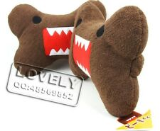 New Cute Domo kun Bones Car Neck Pillow Car Cushion - 2 Piece
