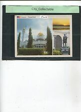 P208 # MALAYSIA USED PICTURE POST CARD * 3 PENANG ISLAND SCENERIES