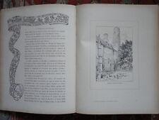 LA NORMANDIE PITTORESQUE haute et basse normandie ill.G.Conrad par C.Brisson RAR