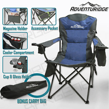 FOLDABLE FOLDING CAMPING CHAIR RETREAT RECLINER BEACH OUTDOOR PICNIC TRAVEL CAMP