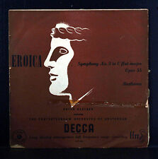 Beethoven Eroica Kleiber Amsterdam Concertgebouw Decca 1st Pressing Microgroove