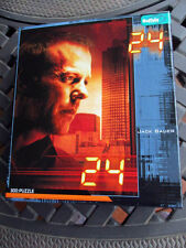 Buffalo Games Jack Bauer 24 Jigsaw Puzzle w/ Poster 300 Pieces New/Sealed