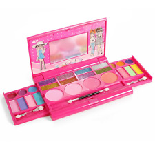 Princess Makeup Set For Kids Cosmetic Girls Kit Eyeshadow Lip Gloss Blushes New