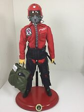 1/6 DRAGON USAF THUNDERBIRDS FIGHTER PILOT F-16 FALCON TOPGUN RC BBI 21ST CENT