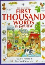 The Usborne First Thousand Words in Japanese: With Easy Pronunciation Guide  En