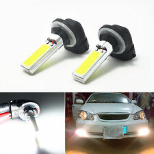 2x 881 886 894 898 H27W Car COB LED Light Fog Lamp Driving Bulb HID 6000K White
