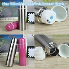 Vacuum Flask Unbreakable Stainless Steel Coffee Bottle Thermos 500 ml New F0