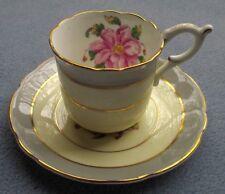 Coalport China Tomorrow Demitasse Cup and Saucer Set England Porcelain