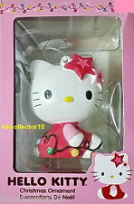 Hello Kitty Sitting with String Lights Decoration Christmas Holiday Ornament
