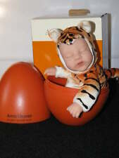 New ANNE GEDDES Tiger DOLL IN EGG HOLIDAY GIFT Rare in Box