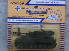 (NEW) Roco Minitanks / Herpa Modern US M-109 155mm Armored SP Howitzer Lot #1221
