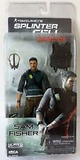 TOM CLANCY SPLINTER CELL CONVICTION SAM FISHER ACTION FIGURE NECA PLAYER SELECT