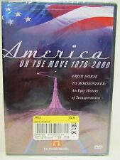 New America On The Move 1876-2000 Transportation History Channel DVD Movie