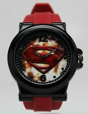 Superman Man of Steel Watch WB DC Comics Original (MOS9018)