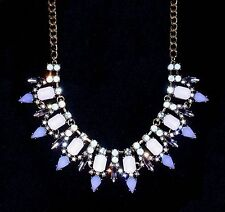 """Park Lane """"LACY LILAC"""" NECKLACE - Gold w/ Lavender  - Orig. $71  -  Just In!!"""