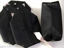 LOT OF 5 New Mary Kay Classic Cosmetic Makeup Beauty Bag Travel Tote w/Pink Bow