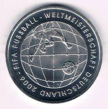 10 Euro Silbermünze FIFA Fußball Weltmeisterschaft Deutschland 2006 aus 2005