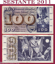 # SWITZERLAND / SVIZZERA - 100 FRANKEN 10.2. 1971 sign. 42  P 49m  - SPL+ / XF+